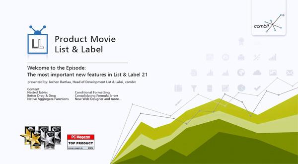 List & Label v21版本更新亮点