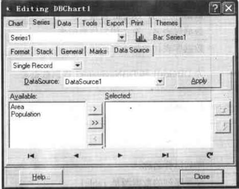 单条记录中可用于显示的字段(属性)