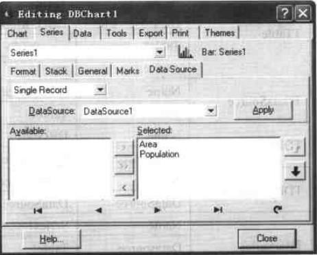 单条记录选择用于显示的字段