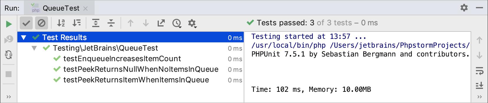 PHP集成开发环境PhpStorm快速入门指南(七):测试代码