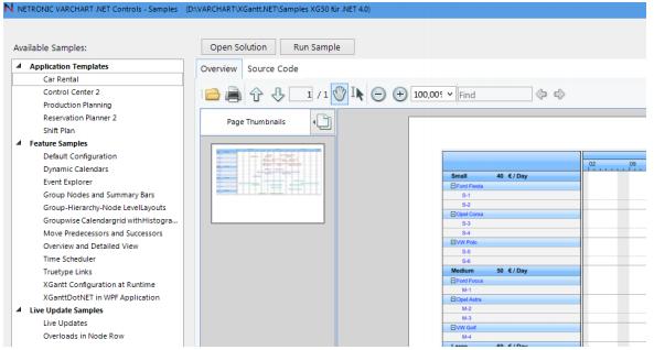 VARCHART XGantt用户手册:.NET控件如何在Microsoft Visual Studio中进行