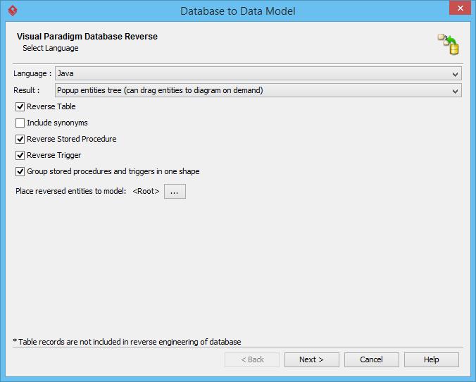 UML工具Visual Paradigm教程:如何从Redshift数据库生成ERD
