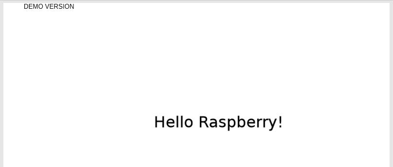 使用FastReport .Net 1分钟学会如何用.NET Core在Raspberry PI上制作PDF