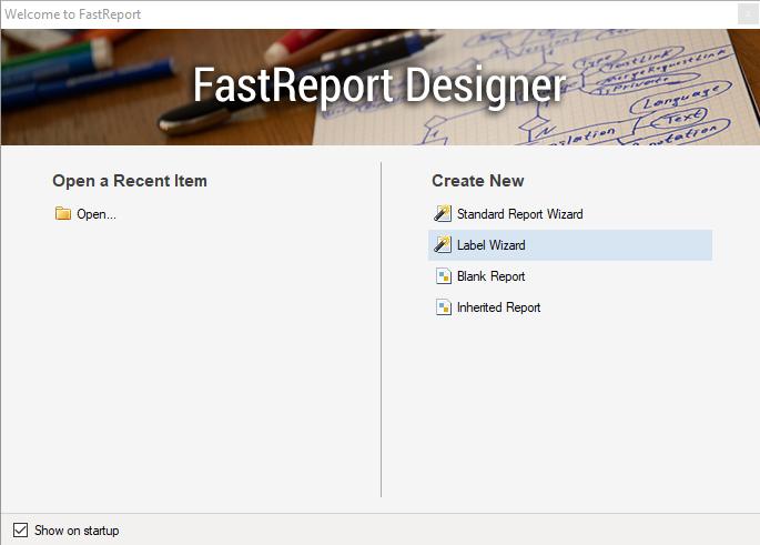 报告生成器FastReport .NET功能指南:从WinForms应用程序创建名片