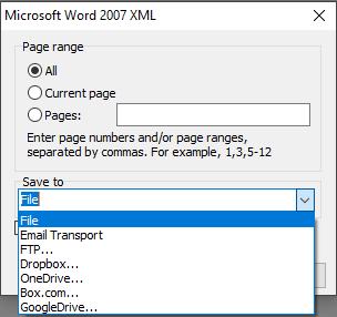 可视化报告生成器FastReport VCL功能指南:从Delphi/C ++ Builder/Lazarus创建Word 2007 XML格式的文件