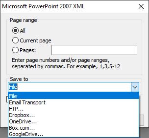 可视化报告生成器FastReport VCL功能指南:从Delphi / C ++ Builder / Lazarus创建PowerPoint XML格式的文件