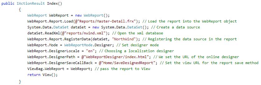 开源报表FastReport Open Source基础教程:如何在.NET Core MVC中使用