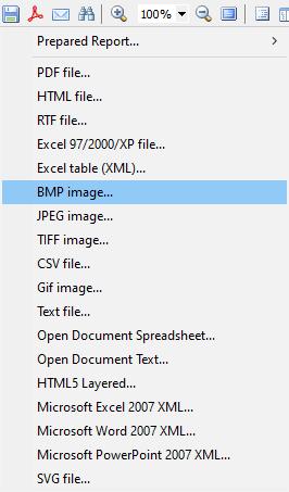 可视化报告生成器FastReport VCL功能指南:从Delphi / C ++ Builder / Lazarus保存图像