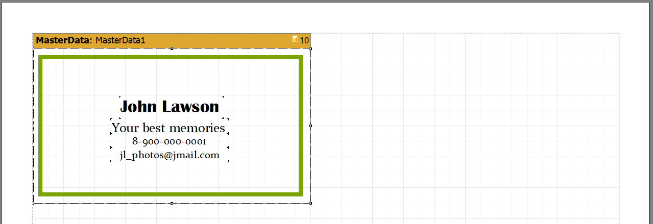 可视化报告生成器FastReport VCL实操指南:从Delphi应用程序中打印名片