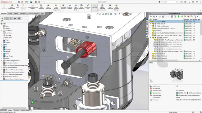 SOLIDWORKS PDM 2021性能