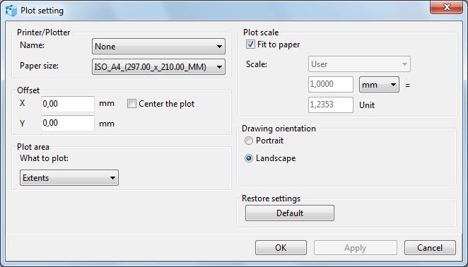 通用CAD图纸处理软件ABviewer2020最新基础教程:绘图设置