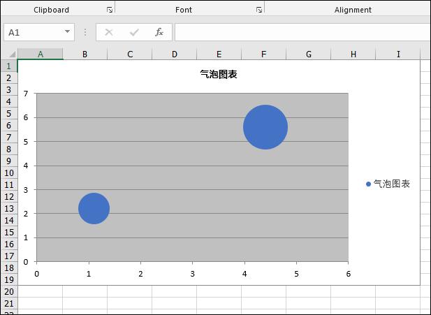 Excel .NET组件Spire.XLS教程:在 Excel 中创建气泡图表