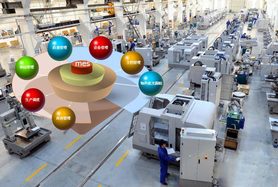 实施MES系统是打造数字化智能工厂的基础