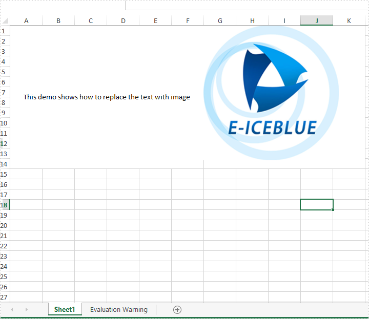 Excel Java组件Spire.XLS教程:在Java应用程序中将文本替换为Excel工作表中的图像