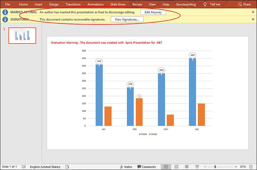 国产PPT格式控件Spire.Presentation功能演示:使用C#在PowerPoint中添加或删除数字签名