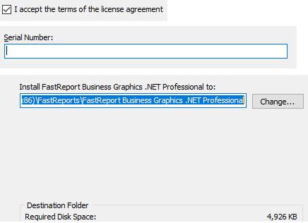 如何安装数据可视化图表库FastReport Business Graphics .NET