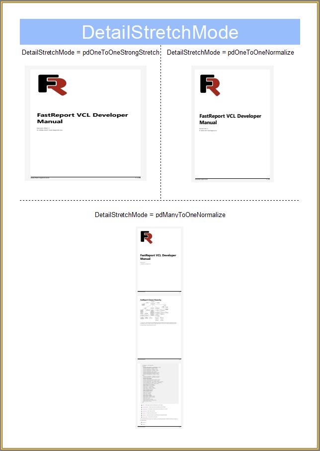 FastReport VCL v2021.3新功能演示:如何使用新的报告对象将 PDF 添加到报告中