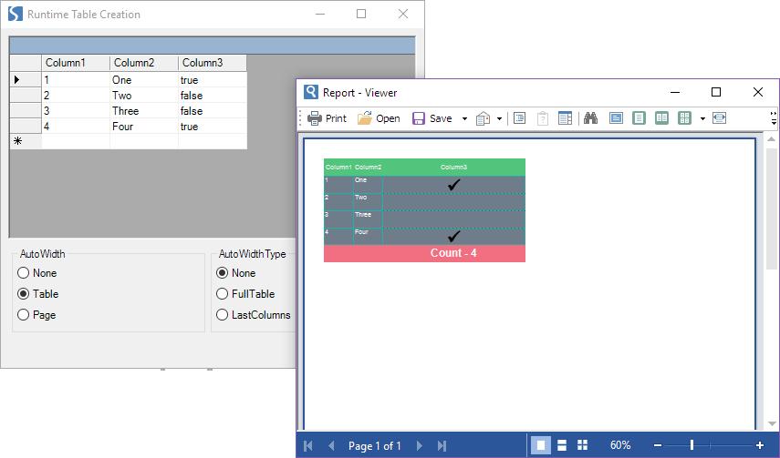 Stimulsoft Reports.Net示例演示:在WinForms 类别中在运行系统中创建一个简单的报告