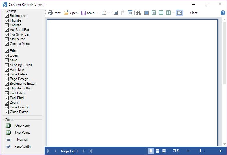 Stimulsoft Reports.Net示例演示:WinForms 类别中自定义报告查看器