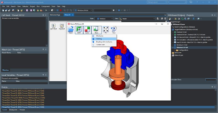 多功能含源码CAD工具CAD VCL v15发布,与 FireMonkey 兼容
