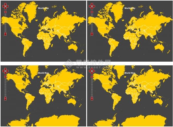 amCharts,世界地图,Javascript Charts,地图控件