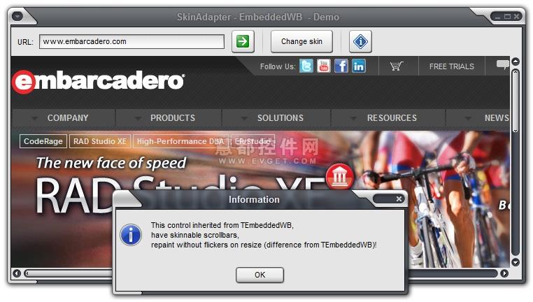 SkinAdapter VCL界面预览:SkinAdapter界面预览