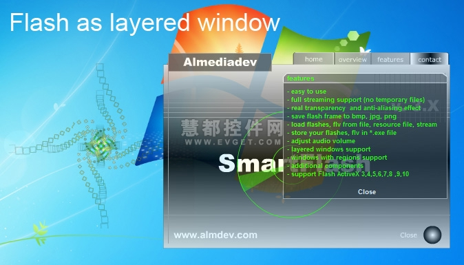 SmartFlash VCL界面预览:SmartFlash VCL界面预览