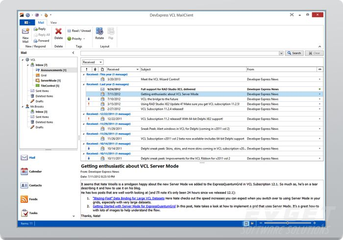 DevExpressVCL DataGrid ServerMode