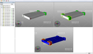 EV3DVue,PLM系统,2D/3D模型