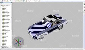 EV3DVue,PLM系统,3D渲染模式
