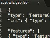 Highmaps GEOJSON支持