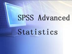 SPSS Advanced Statistics