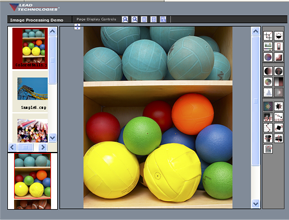 Image Processing Web Forms Demo
