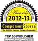 Component Source Top 50 Best Selling Publisher Award