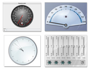 MindFusion.Gauges for Silverlight