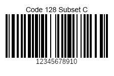 Code128SubsetC