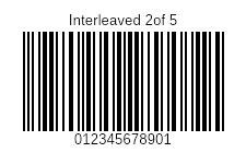 Interleaved2of5