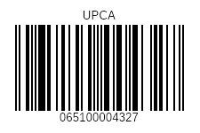 UPCA-barcodes