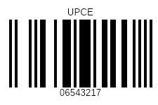 UPCE-barcodes