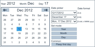 windows 8 date picker