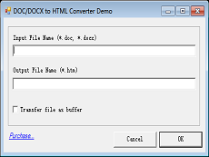 DOC to HTML Converter