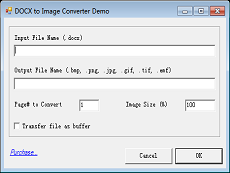 DOCX to Image Converter
