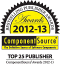 Top 25 Publisher on the ComponentSource site