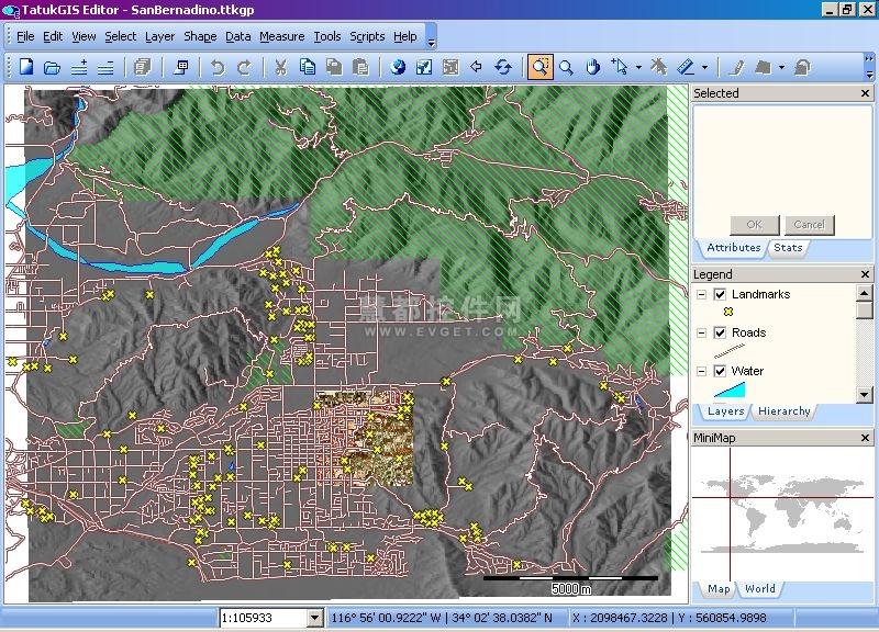 TatukGIS Editor地图项目创建