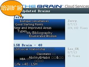 思维导图TheBrain培训扩展