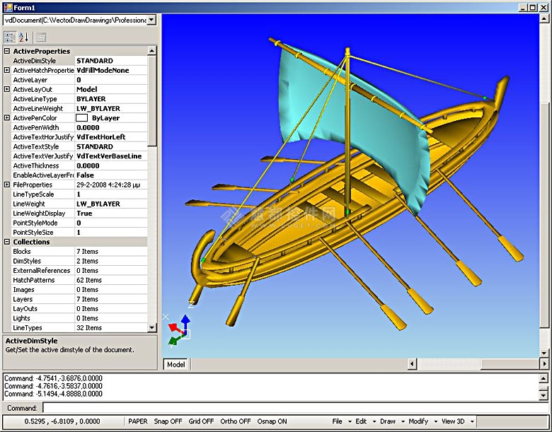 VDF,VectorDraw,3D矢量绘图