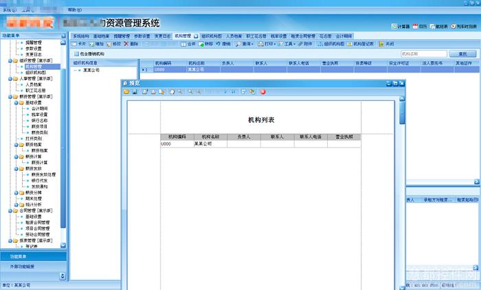 DevExpress典型案例,HR系统