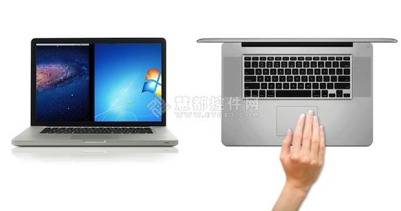 VMware Fusion,手势,笔记本电脑