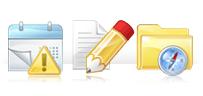 icon 办公室基础图标