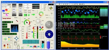 Iocomp's Ultra Pack终极版,工控仪表控件